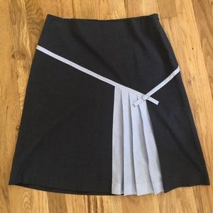 Anthropologie skirt with pleated Detail size 10